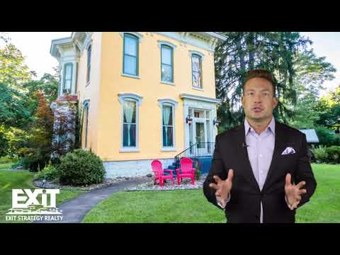 Luxurious Vintage 4 Bedroom Italianate Home For Sale in SW Michigan 301 Center Dowagiac MI 49047