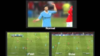 Fifa 12 Slow/Normal/Fast gameplay