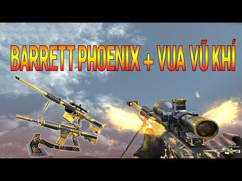 Test vũ khí Barrett Gold Phoenix và chế độ mới - Quang Brave