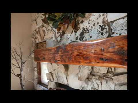 100 Year Old Beam Mantle!!!