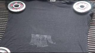 Custom T-Shirt With Laser Engraving