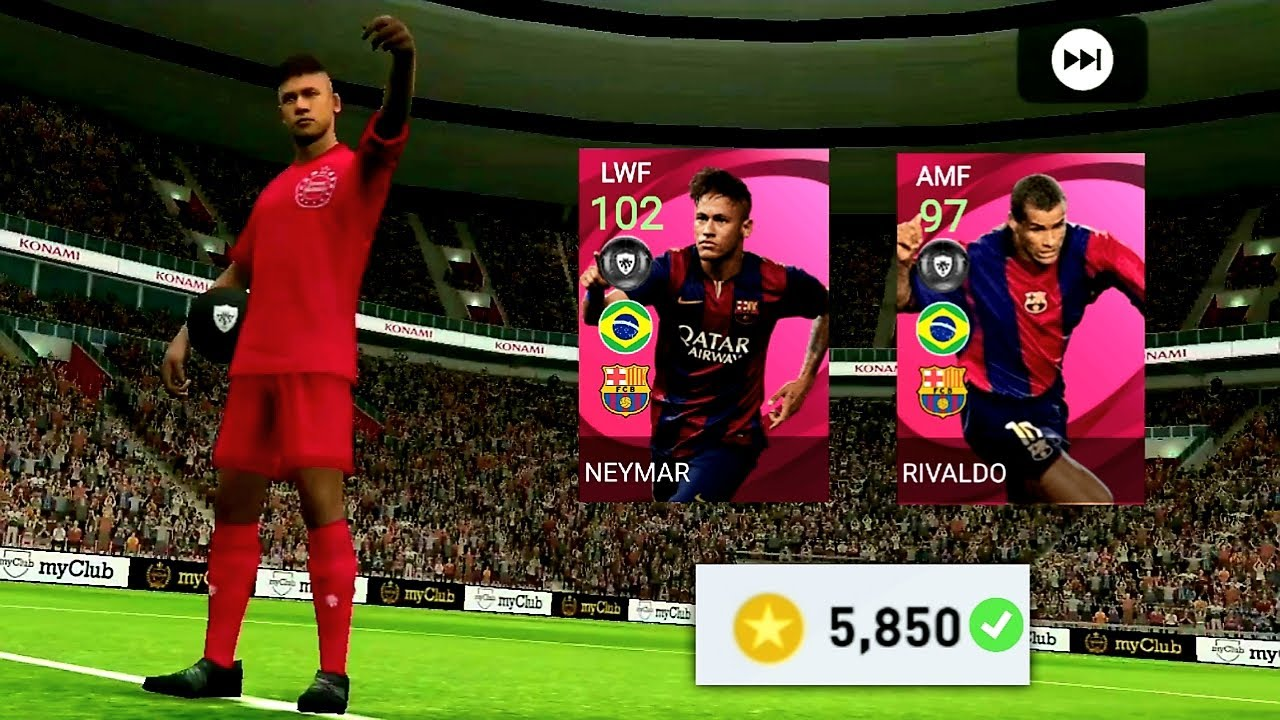 5800 Coins For Iconic Neymar In Pes 2021 Mobile || Finally Konami Loves Me Again