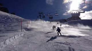 Катание на лыжах отличный отдых