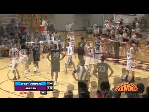 High School Rewind - West Jordan @ Jordan (Boys Basketball) {1-22-15}