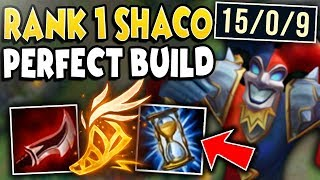 #1 SHACO WORLD'S ULTIMATE CHALLENGER BUILD! PERFECT KDA CARRY! - League of Legends