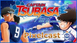 In der neuesten Ausgabe vom #Pixelcast haben wir Redebedarf über ein Fußballspiel. Captain Tsubasa: Rise of New Champions kommt eigentlich perfekt zwischen stagnierenden Serien wie FIFA und Pro Evolution Soccer. Ob das Entwicklerteam die Chance nutzen konnte, erfahrt ihr hier.  Man könnte den Podcast auch als sprachliches #Review oder eine #Bewertung verstehen.