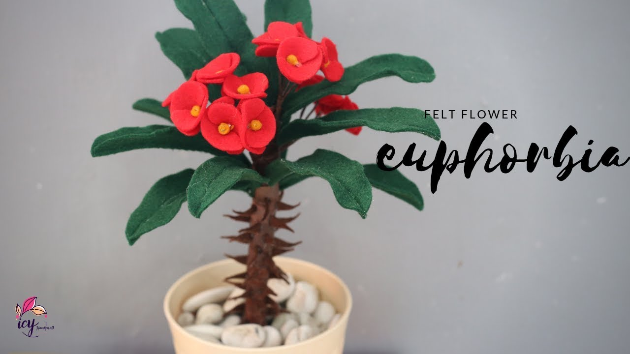 Diy Felt Crafts Bunga Anggrek Flanel How To Make Felt Flower Orchid Youtube