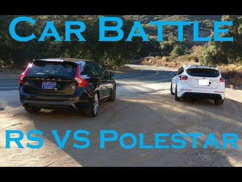 2017 Focus RS VS 2017 Volvo V60 Polestar