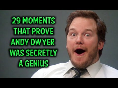 29 Moments That Prove Andy Dwyer Was Secretly A Genius - YouTube
