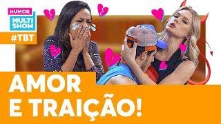 Jéssica e Maicol TERMINARAM! | #TBT Vai Que Cola | Humor Multishow