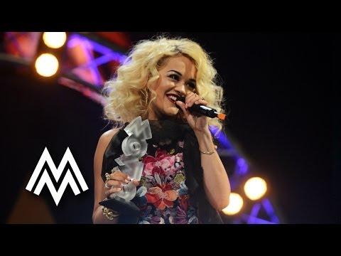 Rita Ora | Wins 'Best Newcomer' | Acceptance Speech | 2012