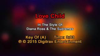 Diana Ross & The Supremes - Love Child (Backing Track)