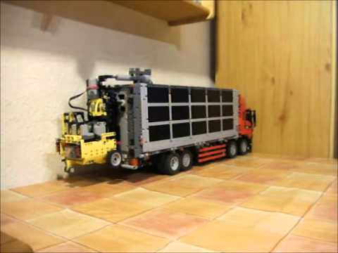 stapler f r lkw zum selbstladen aus lego technic youtube. Black Bedroom Furniture Sets. Home Design Ideas