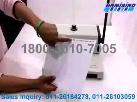 Best Wiro Binding Machine Dealer in Noida 1800-3010-7005