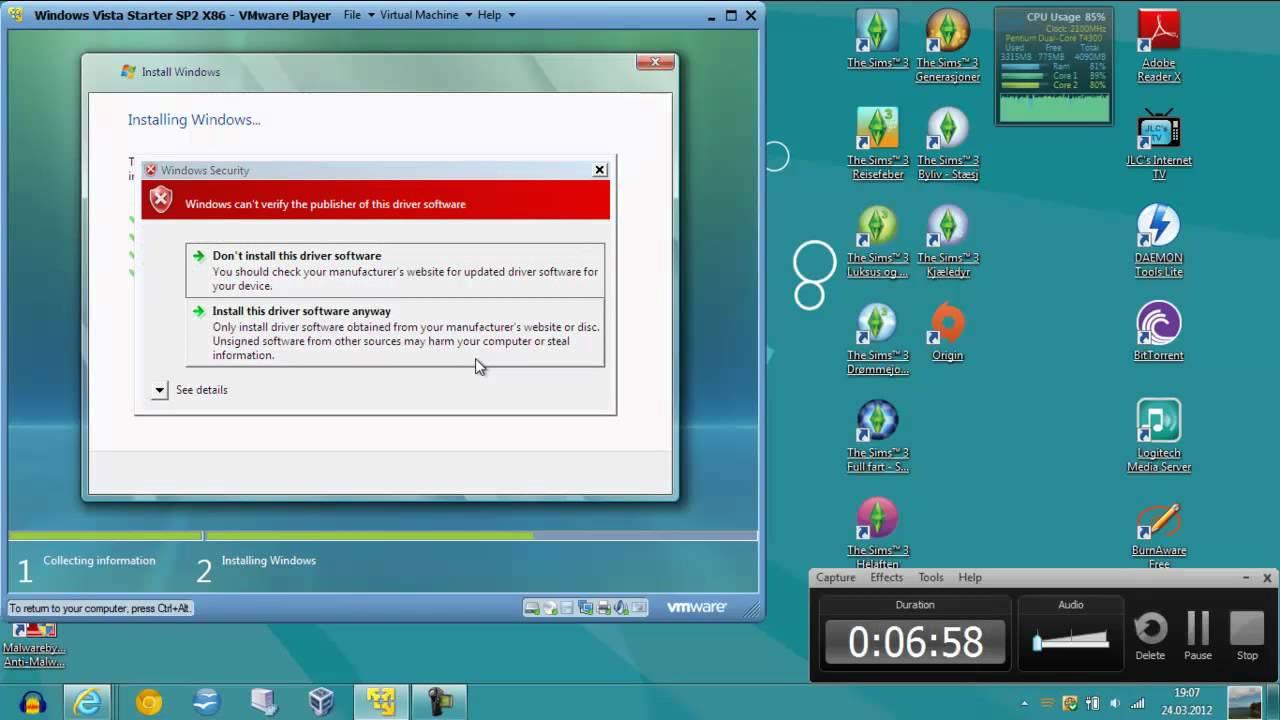 free download windows vista starter iso