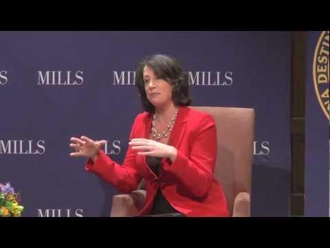 Senior NPR Correspondent Linda Wertheimer at Mills College
