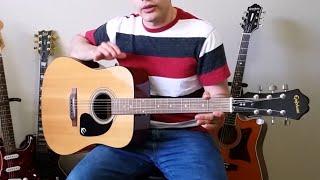 Epiphone PR 150 Guitar Review