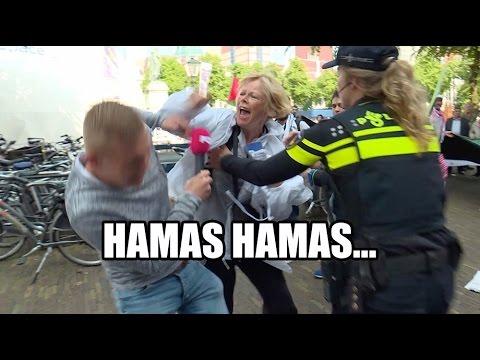 Anti-Israel demo loopt weer uit de hand
