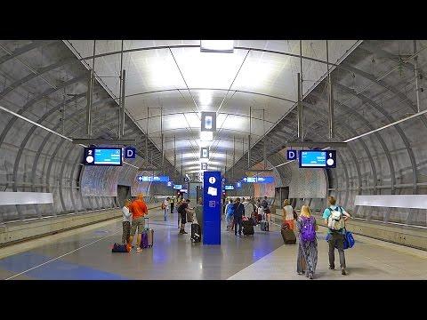 Helsinki Airport Train Station: Interior Video Tour - Finland