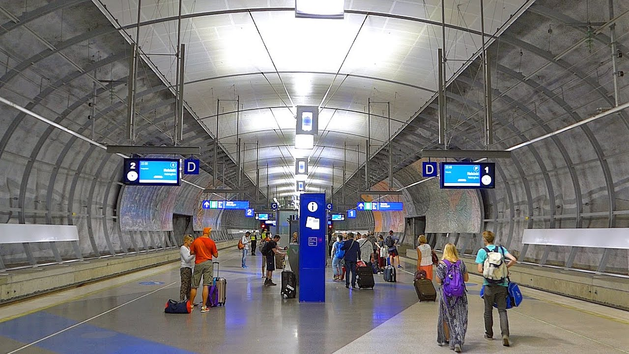 Helsinki Airport Train Station