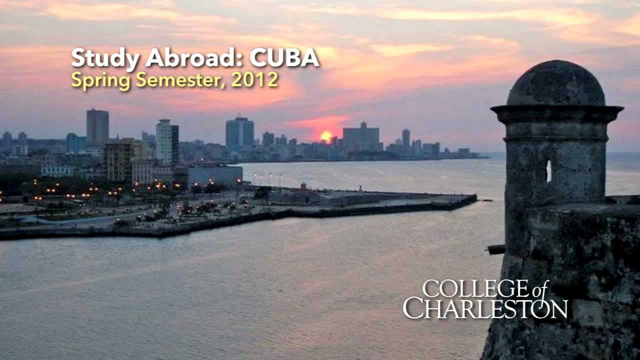 Image result for College of Charleston, Cuba