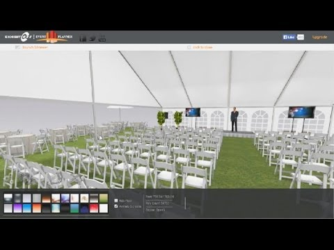 Event Planning tutorial, outdoor wedding or golf event