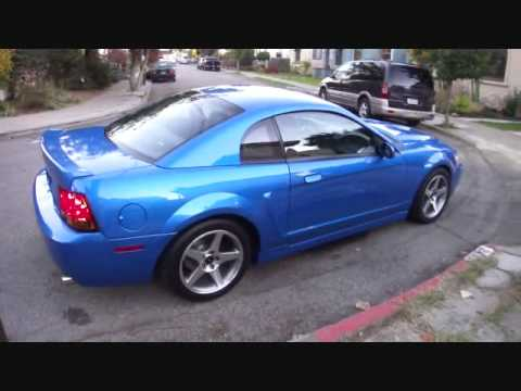 98 Mustang Gt >> Bright Atlantic Blue Cobra Clone Walk Around and Exhaust - YouTube