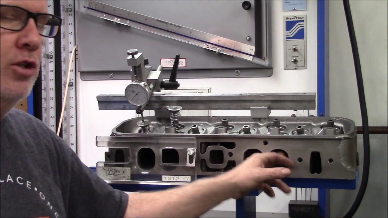 GM 781 Cylinder Head Flow Bench Testing 620HP Street/Strip 454 Big Block  Chevy