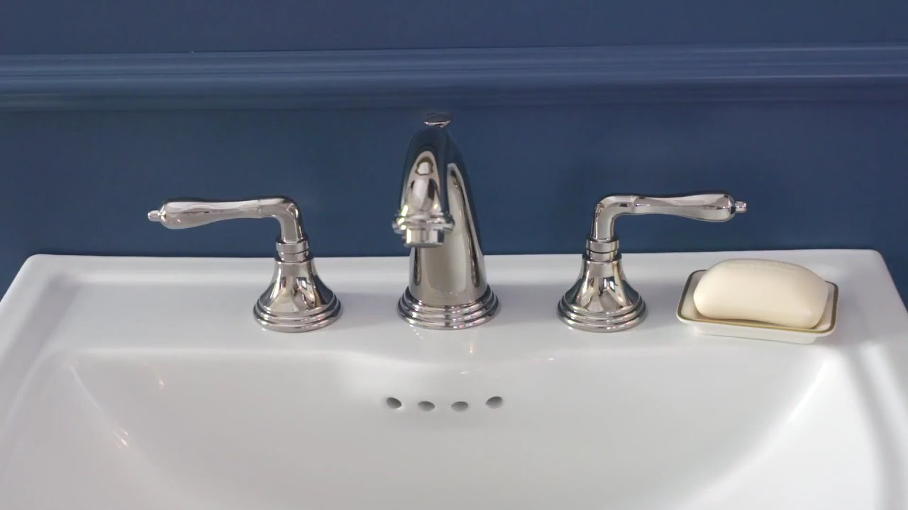 Ashbee Widespread Bathroom Faucet by DXV - YouTube