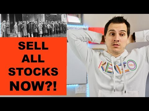 Should You Sell All Your Stocks in the Stock Market Now?!