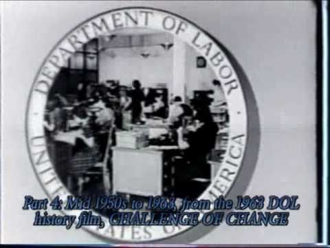 History of the US Department of Labor, Part 4: Mid 1950s to 1963