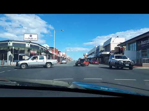 A drive through Hobart, Australia. The round about way part 1