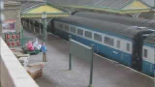 Intercity 125 High Speed Trains HST Class 43 + Blue Pullman on Jowett Junction - CMRC