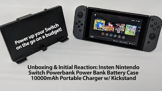 Can a $25 External Battery for the Switch be Good? Long-Term Test of the Insten External Battery