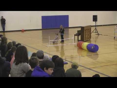 Erica and Buck School Talent Show 2014.