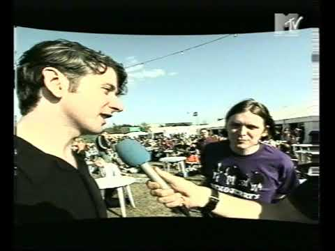 Teenage Fanclub - Interview & Clips Reading Festival 25.08.95
