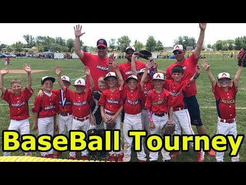 Kids BasEball - CBanks Travel Team competes in the Grand Island Baseball Tournament