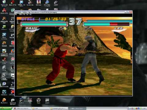 Playstation2 ps2 android emulator play! V0. 30 tekken 4 game play.