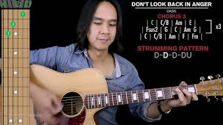 Don't Look Back In Anger Guitar Cover Oasis 🎸 |Tabs + Solo|