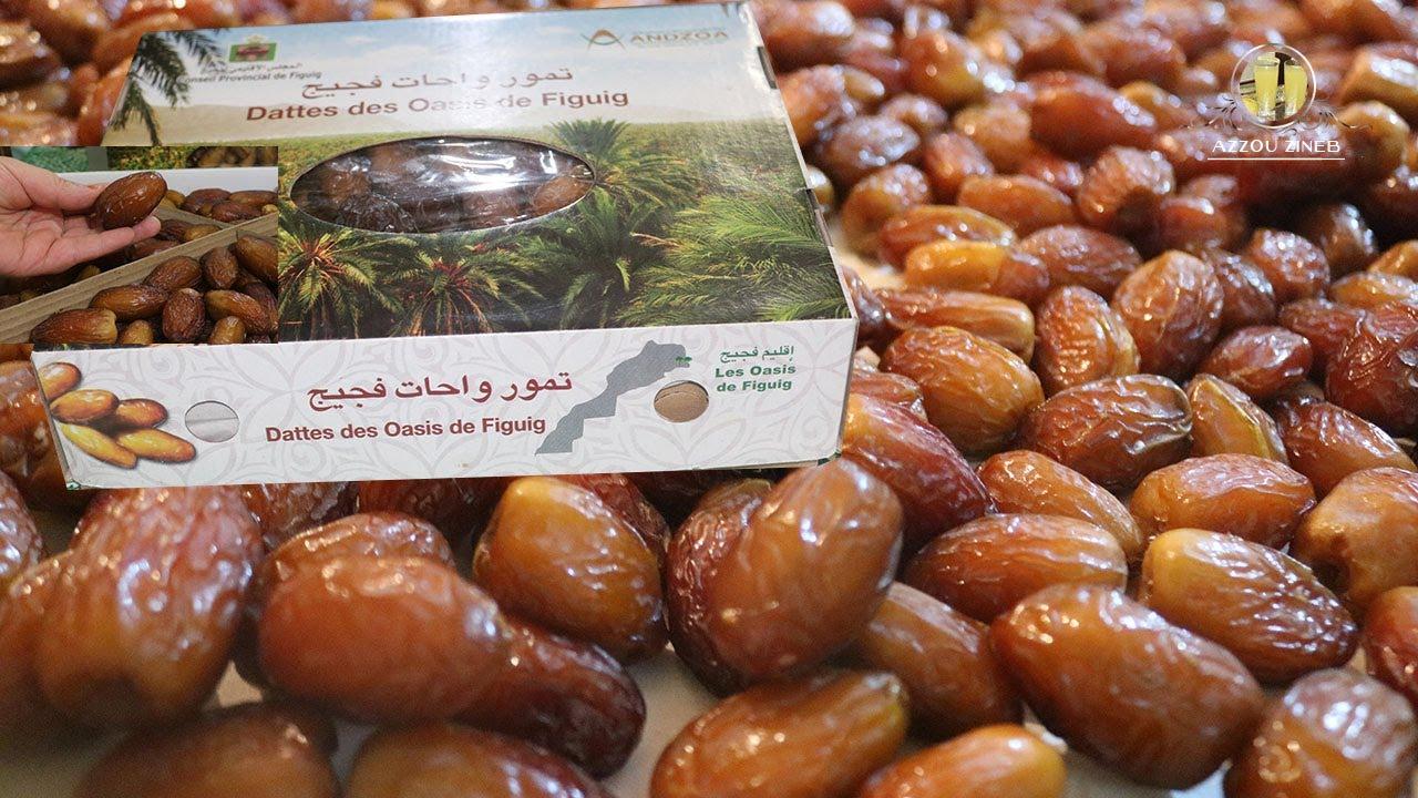 تمر المجهول واحة فجيج المغرب ملك التمور بمختلف أنواعه و أصنافه تمور فخمة بجودة عالية Youtube