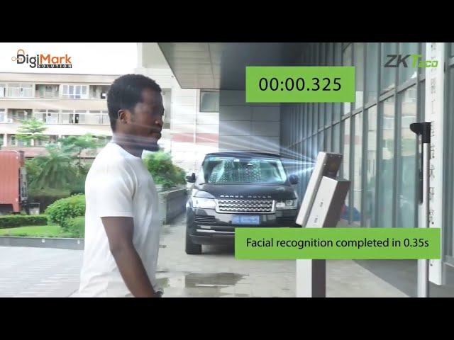 Introducing The New 3D Structured Light Facial Recognition Technology of ZKTeco | Digi-Mark Solution