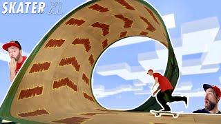 I SKATEBOARDED A LOOP! / Skater XL