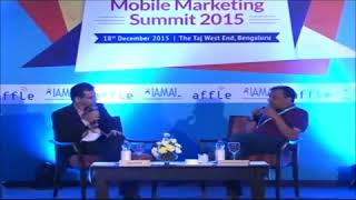 Fireside chat with Anuj Kumar at IAMAI & Affle