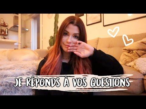 JE RÉPONDS À VOS QUESTIONS ( SEXUALITÉ, TCA ETC ... ) - VLOGMARS 10