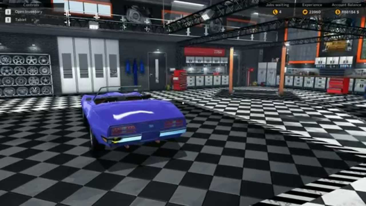 Shop Tour And Parking Garage Car Mechanic Simulator 2015 Changes Daily    YouTube