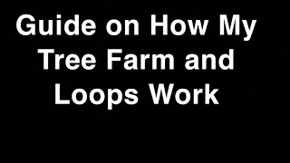 Roblox FactoryTownTycoon- How my Loop and Tree Farm Work