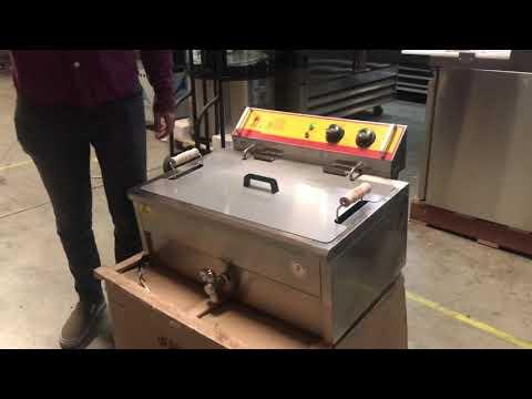 25l-fryer-electric-double-deep-fryerpropane-lp-natural-gas-gas-fryer-oil-filter-cart-nsf