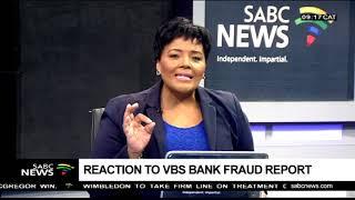 UDM leader - Reaction to VBS Bank fraud report