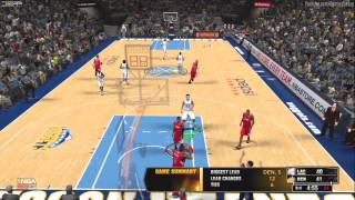 NBA 2K13: Denver Nuggets Vs Los Angeles Clippers [HD] Gameplay Xbox360/PS3/PC