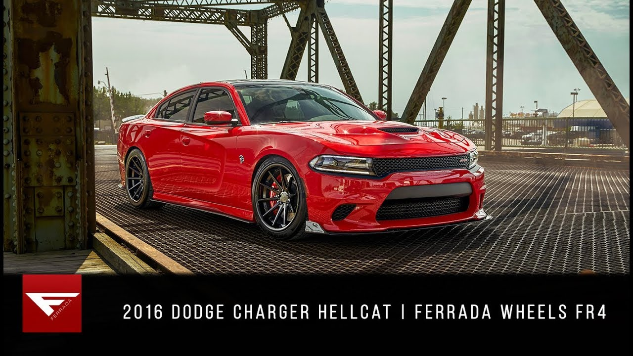 Custom Dodge Charger >> 2016 Dodge Charger Hellcat | Let the Cat Loose | Ferrada Wheels FR4 - YouTube